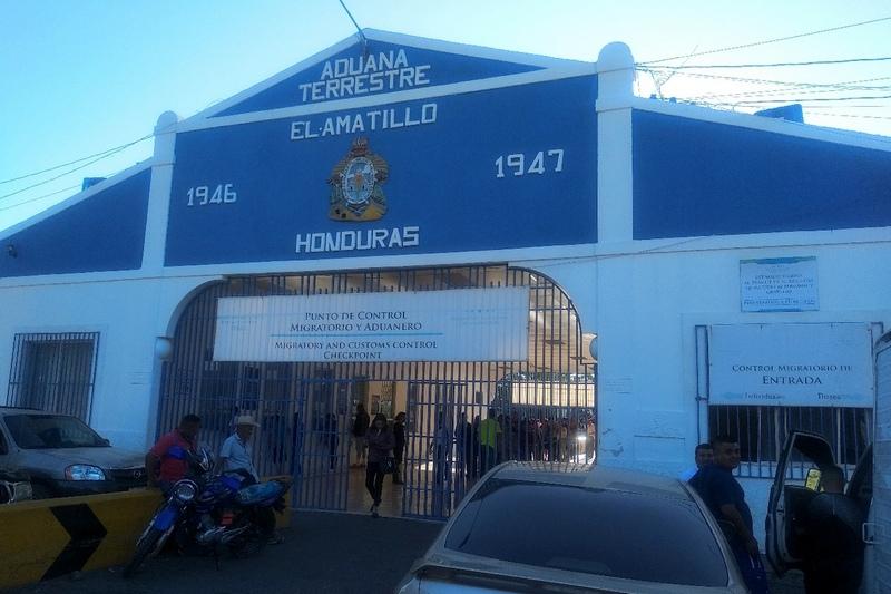 Граница Гондураса