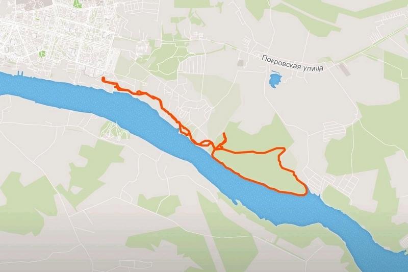 Протяженность нового маршрута лыжни составит, как и раньше, девять километров