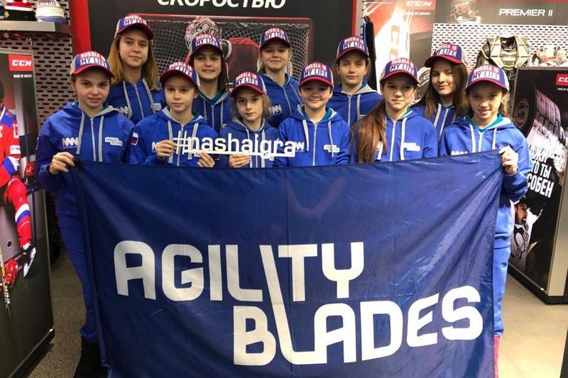Российская сборная Agility Blades