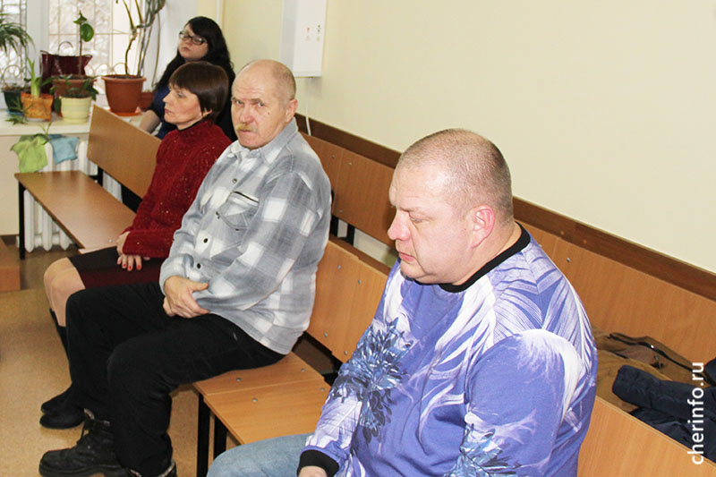 Евгений Диулин в суде
