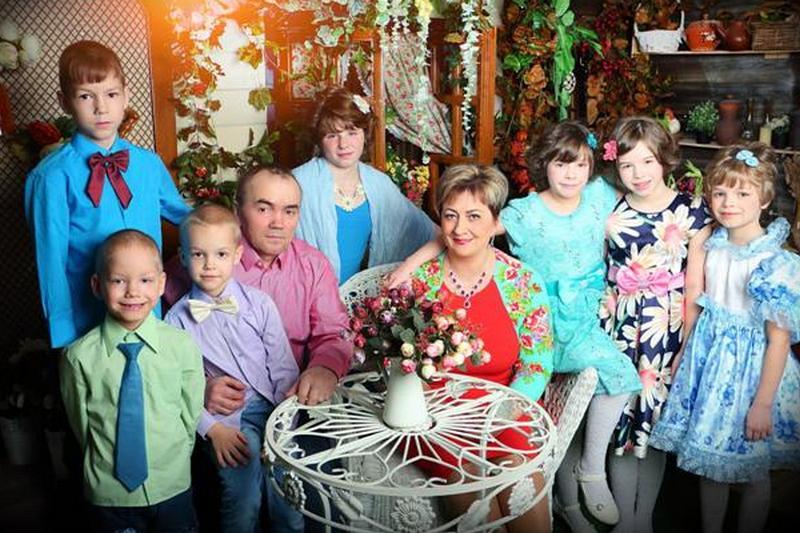 Семья Калачёвых