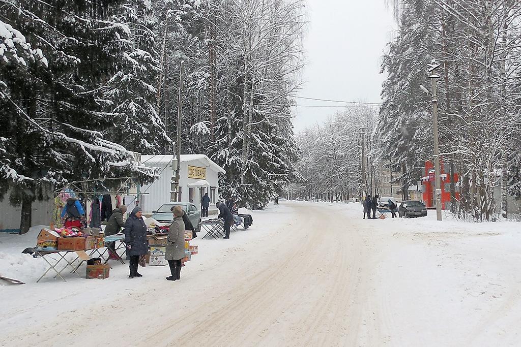 Поселок торфоразработчиков Хохлово