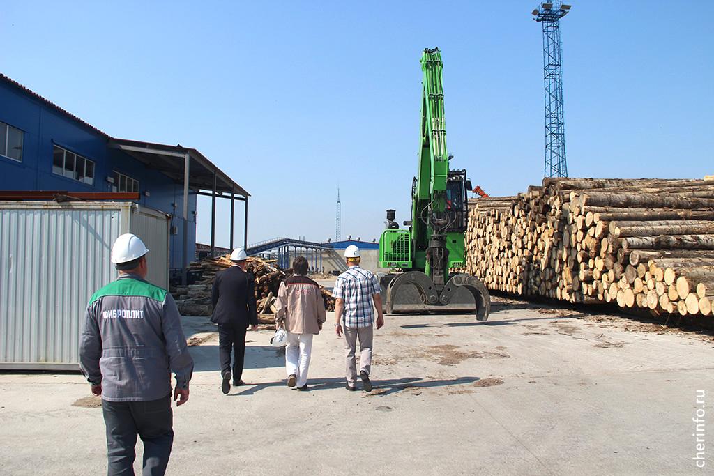 Завод фибролитовых плит в Череповце