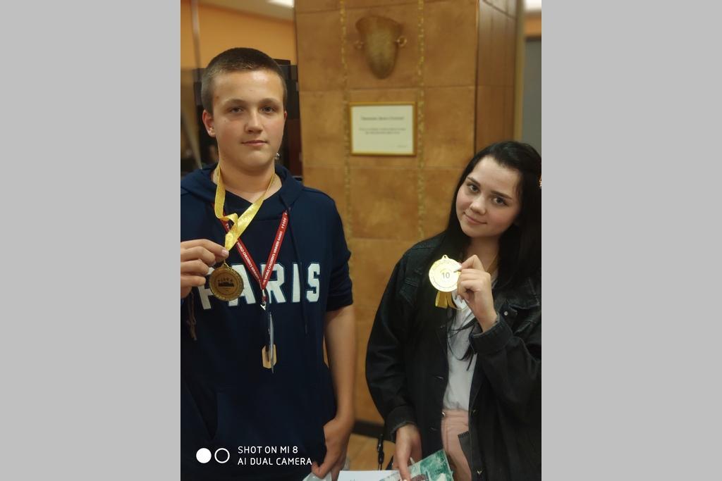 Алексей Железняков и Диана Толокнова