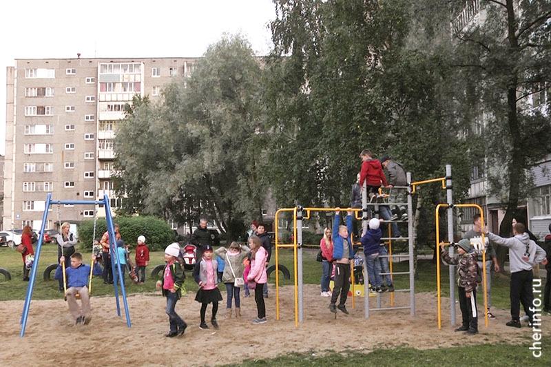 Спорт во дворе