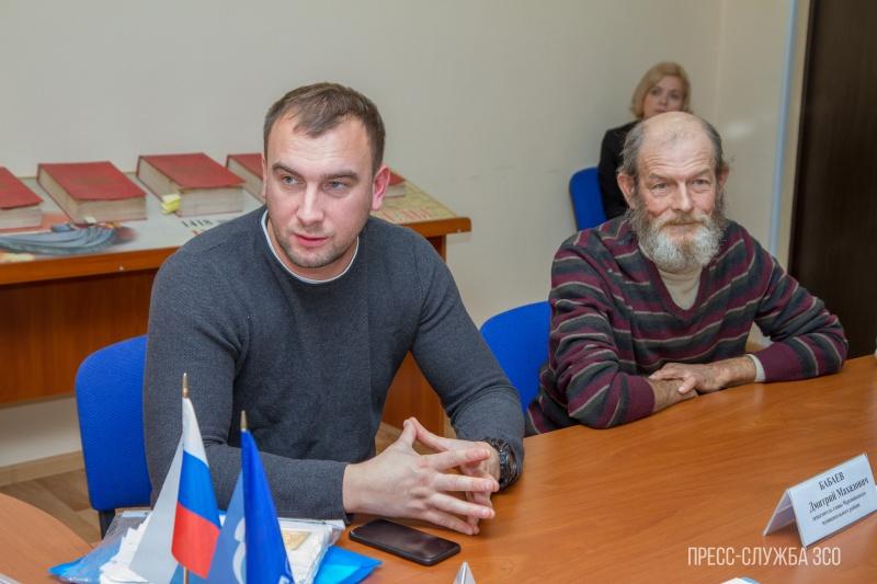 Жители деревни Борисово