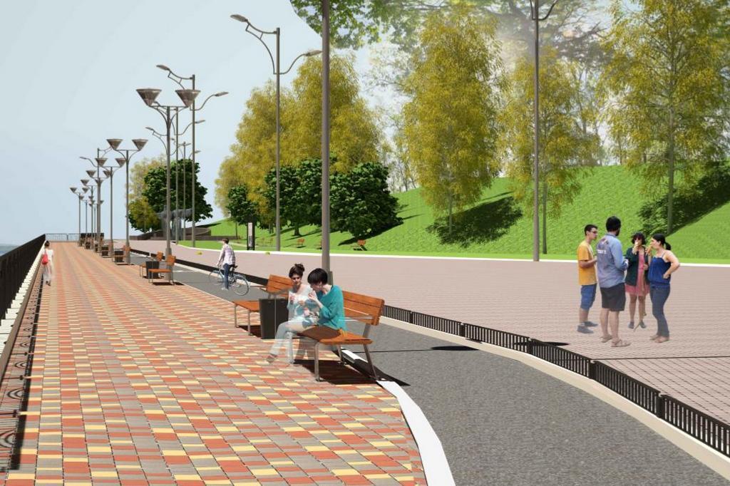 Новый проект Набережной