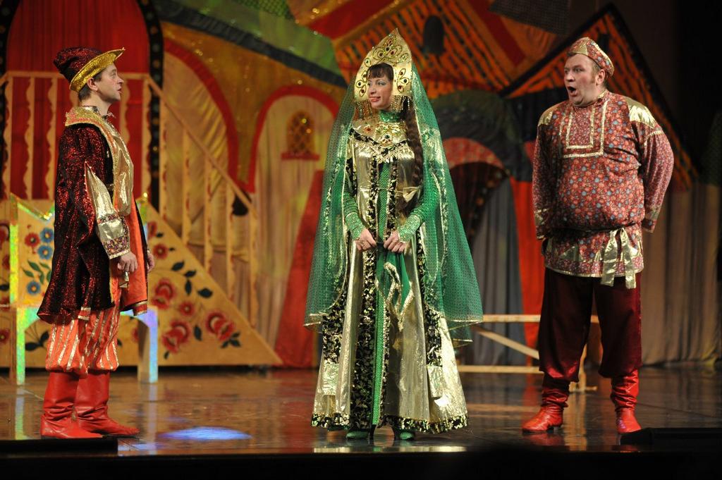 Спектакль для всей семьи театра «ЗнакЪ» «Царевна-лягушка»