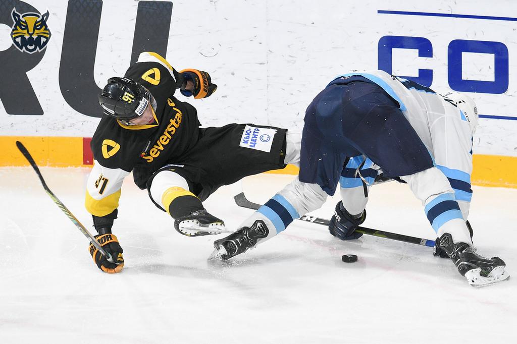Матч регулярного чемпионата КХЛ «Северсталь» — «Сибирь»