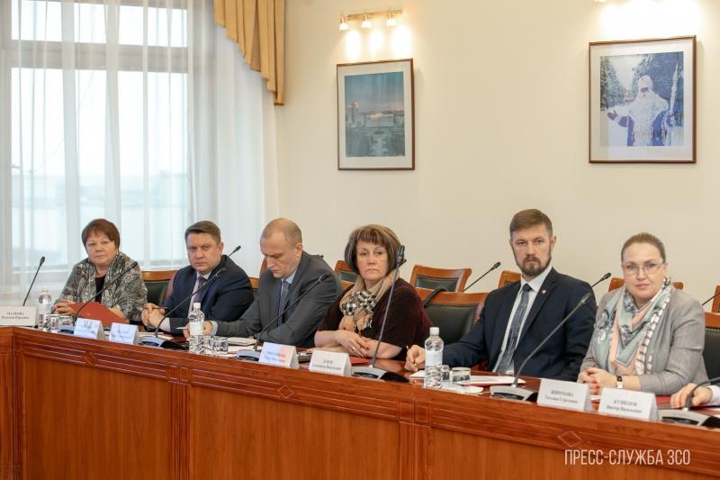 Заседание совета представительных органов муниципальных образований