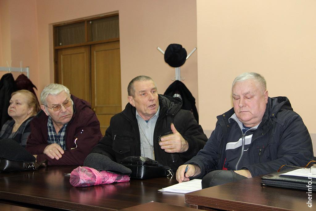 Встреча спредседателями гаражных кооперативов