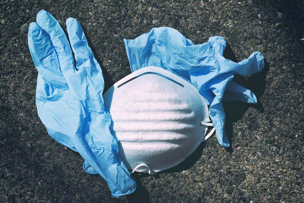 Маска и перчатки