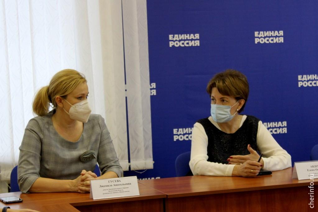 Людмила Гусева и Елена Авдеева