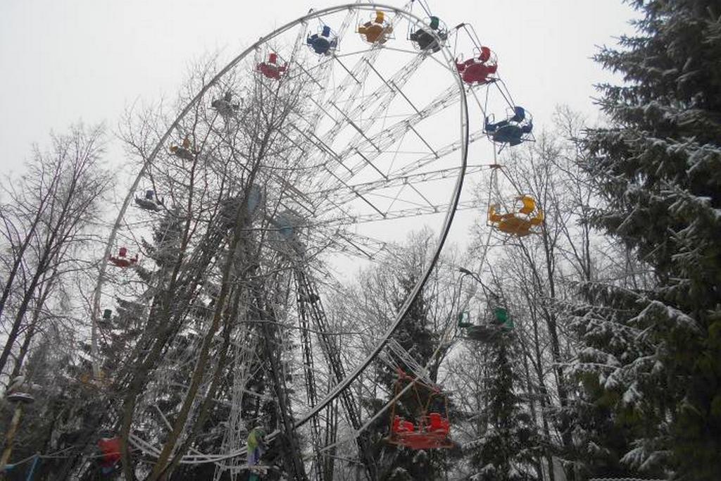 Колесо в парке КиО